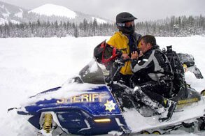 SAR Snow Mobile Rescue Team