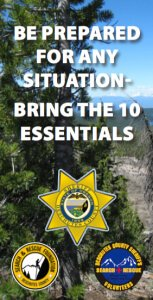 The 10 Essentials, Deschutes County Search and Rescue