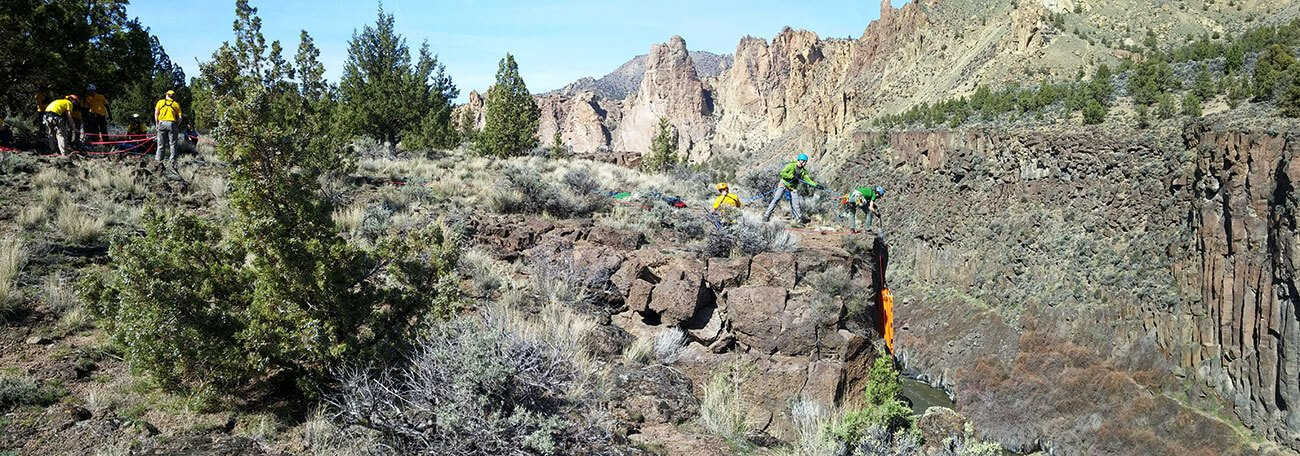 DCSAR High Angle Rescue Smith Rock
