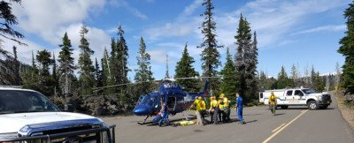 Pacific Crest Trail Hiker Rescued