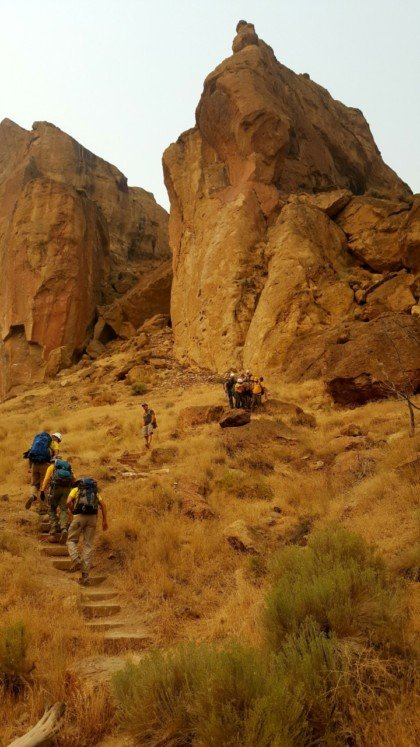 Fallen Climber Rescued at Smith Rock