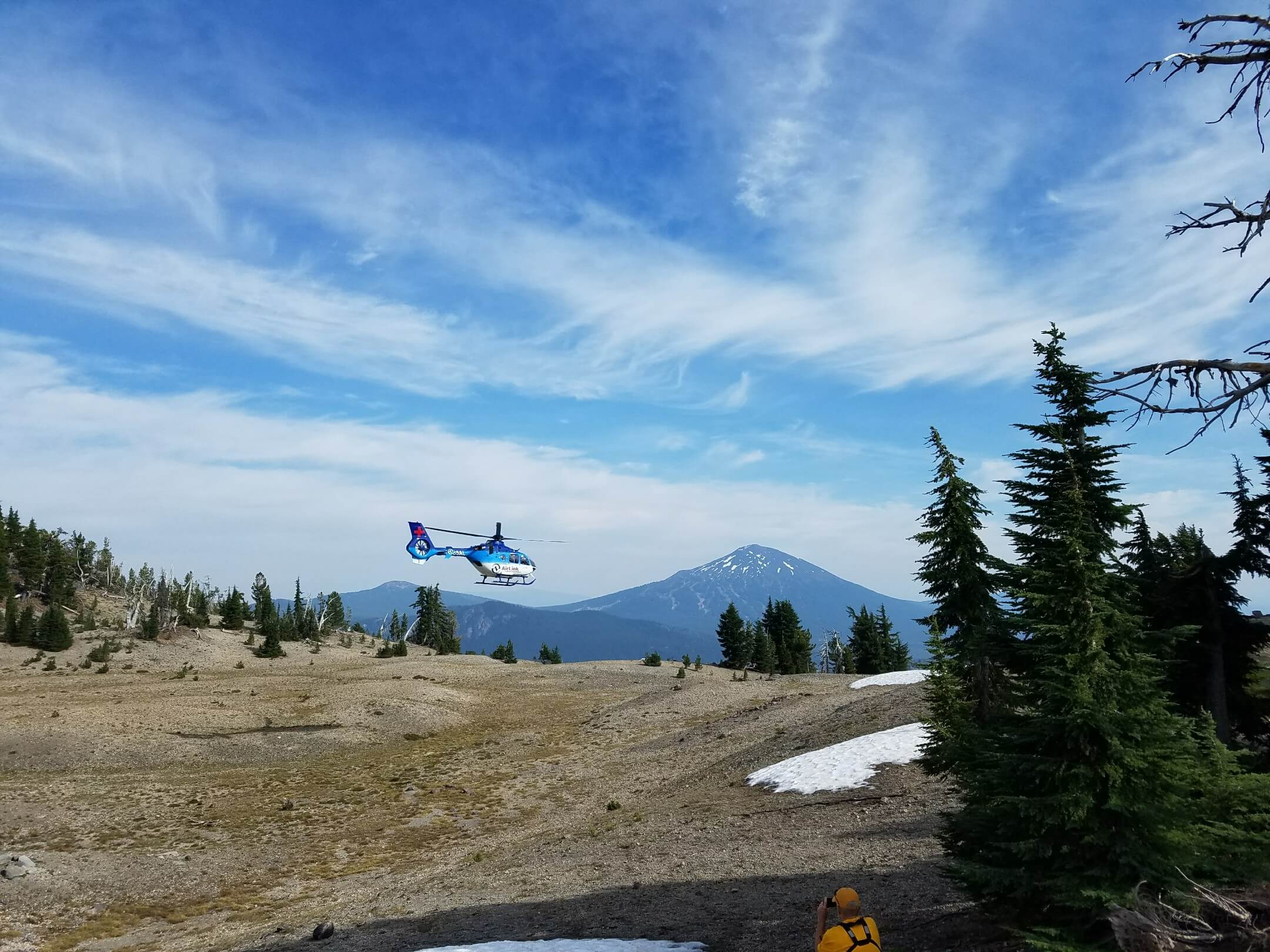 SOUTH SISTER HIKER RESCUE