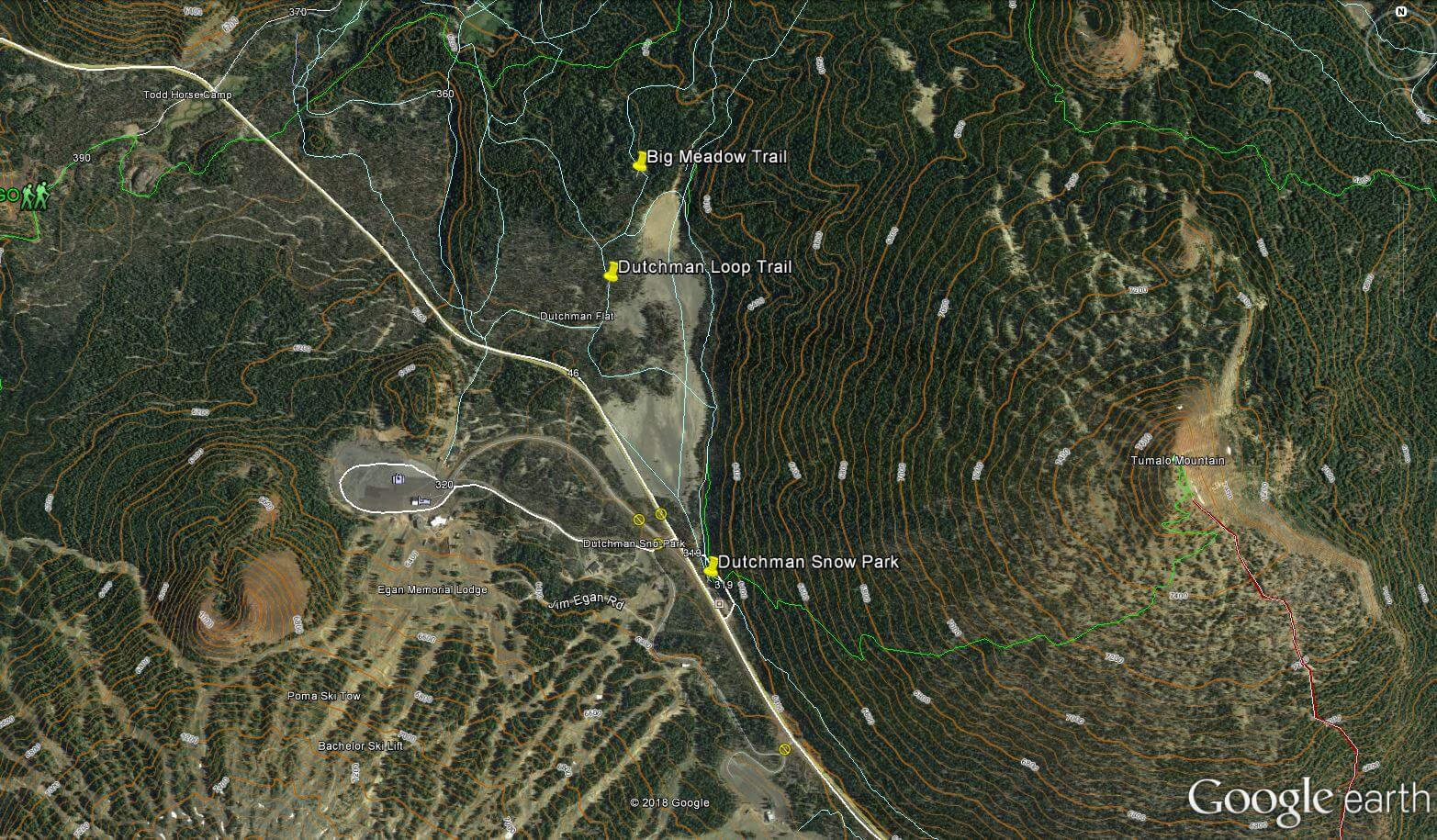 LOST SNOWSHOERS RESCUED AT DUTCHMAN FLAT