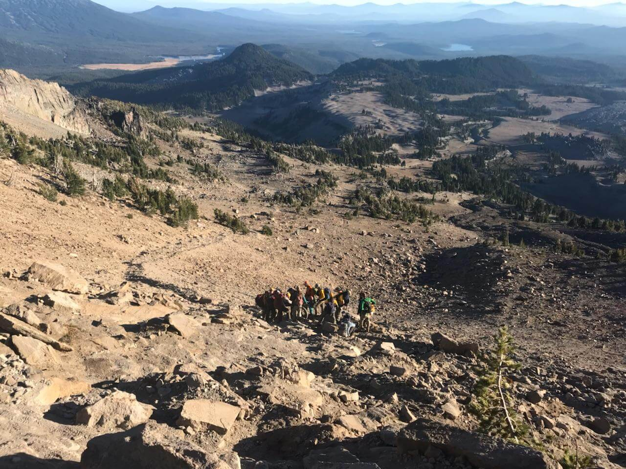 INJURED HIKER NEAR SOUTH SISTER