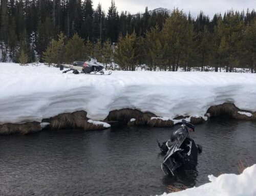 2 INJURED SNOWMOBILE RIDERS RESCUED NEAR GREEN LAKES TRAIL HEAD