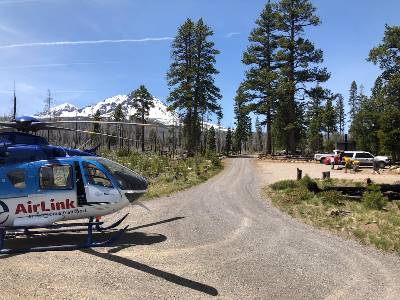 MAN RESCUED OFF OF NORTH SISTER