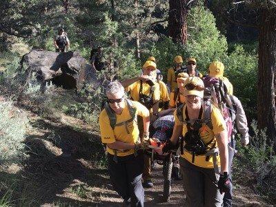 Hiker Rescued