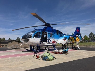 South Sister hiker rescued