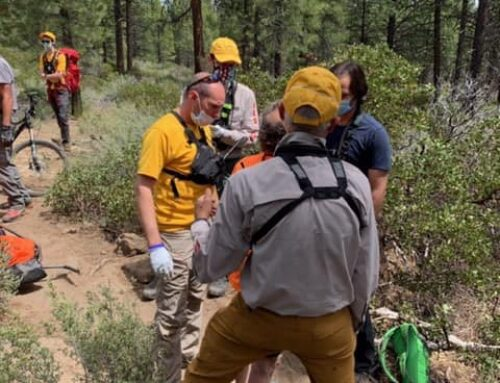 DCSO SEARCH AND RESCUE ASSISTS INJURED MOUNTAIN BIKER