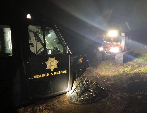 DESCHUTES COUNTY SHERIFF'S OFFICE SEARCH AND RESCUE RESCUES BROKEN TOP HIKER