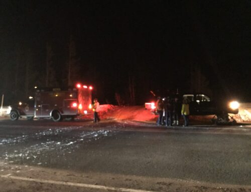 DESCHUTES COUNTY SHERIFF'S OFFICE SEARCH AND RESCUE ASSIST INJURED SNOWMOBILE RIDER AT ELK LAKE LODGE