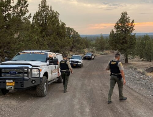 DESCHUTES COUNTY SHERIFF'S OFFICE SEARCHING FOR MISSING FEMALE WEST OF REDMOND (UPDATE: SUBJECT LOCATED)