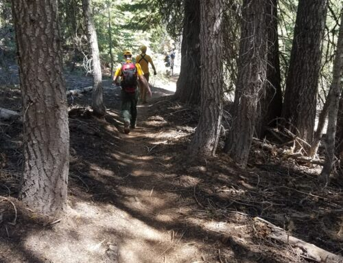DESCHUTES COUNTY SHERIFF'S OFFICE SEARCH AND RESCUE VOLUNTEERS ASSISTS INJURED BICYCLIST ON TIDDLYWINKS TRAIL