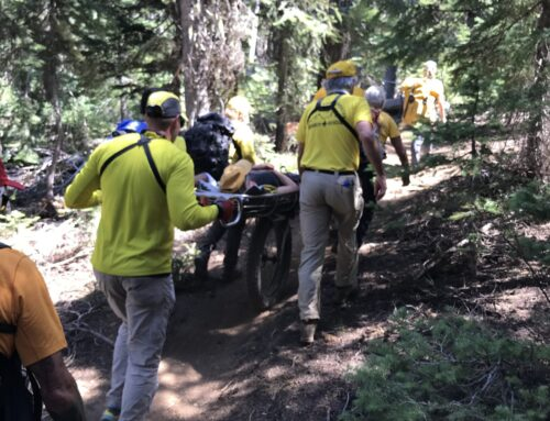 DESCHUTES COUNTY SHERIFF'S OFFICE SEARCH AND RESCUE ASSIST INJURED MOUNTAIN BIKE RIDER ON SWEDE RIDGE LOOP