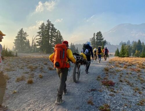 DESCHUTES COUNTY SHERIFF'S OFFICE SEARCH AND RESCUE VOLUNTEERS ASSISTS HIKER ON SOUTH SISTER