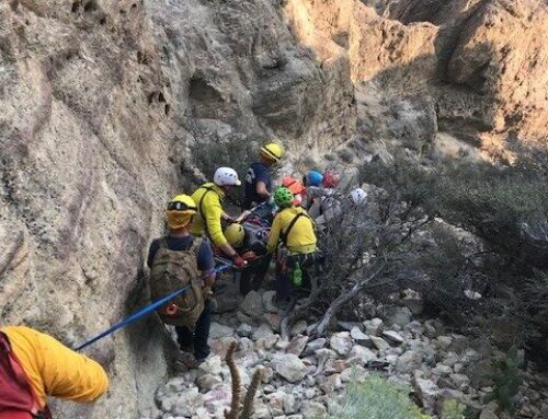 DESCHUTES COUNTY SHERIFF'S OFFICE SEARCH AND RESCUE ASSIST INJURED CLIMBER AT SMITH ROCK STATE PARK
